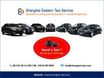 Shanghai-taxi.com - Airport Transfer Service  Hotel Pickup Shanghai