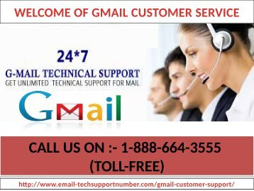 Can't send emails from Gmail? Contact us +1-888-664-3555 through our Gmail tech support number