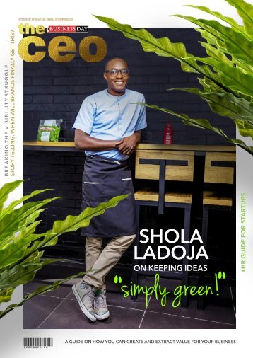 The BusinessDay CEO Magazine December 2017