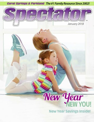 Spectator January 2018 New You, New Year