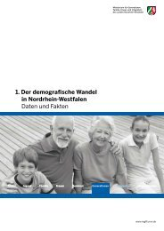 1. Der demografische Wandel in Nordrhein-Westfalen ... - Iserlohn