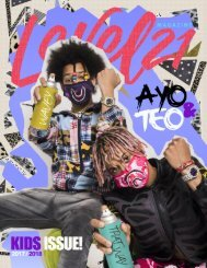 kids issue 2018 Featuring Ayo & Teo