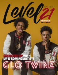 kids issue 2018 Double Cover Glo Twinz