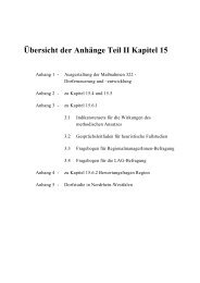 Halbzeitbewertung des NRW-Programms Ländlicher Raum - Kapitel ...
