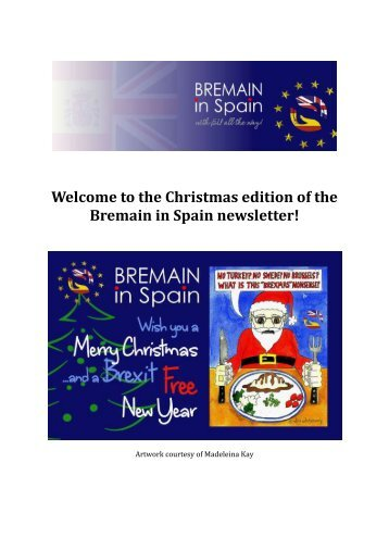 Christmas December Newsletter 2017