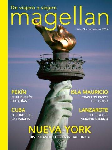 Revista de viajes Magellan - Diciembre 2017