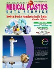Medical Plastics Data Serivce Magazine