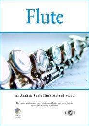 The Andrew Scott Flute Method Book 2 - Andrewscottmusic.com