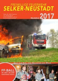 Rückblick 2017 – FF Selker-Neustadt