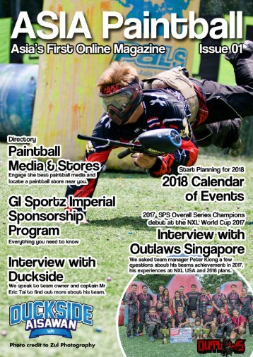 ASIA Paintball Magazine - Issue 01