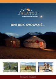 Ala Too Travel - Folder - Ontdek Kyrgyzië