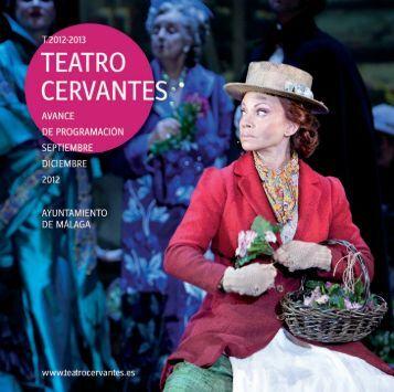 + Programa sep-dic 2012 [PDF 6,5 MB - Teatro Cervantes