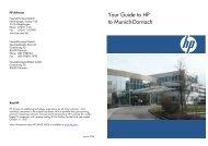 HP Adresses - Hewlett Packard