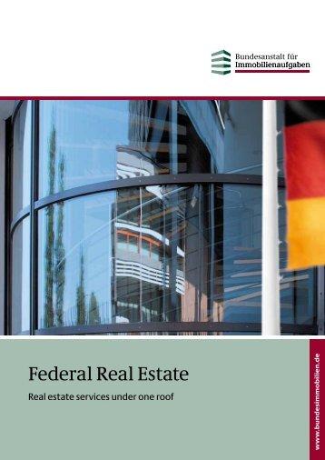 Federal Real Estate - Bundesanstalt für Immobilienaufgaben