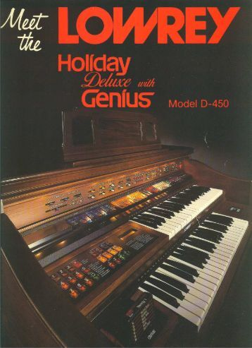 Lowrey Organ Manual Mx 1