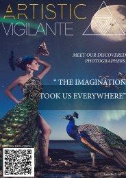 artistic vigilante volume 1,issue 2 ''The imagination took us everywhere''