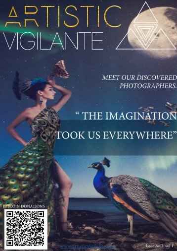 artistic vigilante volume 1,issue 2 ''The imagination took us everywhere''