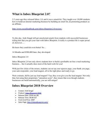 Provlektion blueprint b version 20 liber inbox blueprint 20 review 2018 malvernweather Image collections
