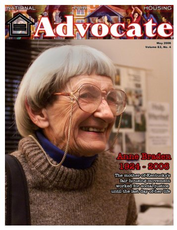 May 2006 - National Fair Housing Advocate Online