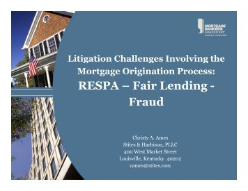 Litigation Challenges Involving The