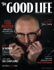 The Good Life Men's Magazine - January/February 2018