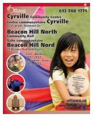 Beacon Hill North Beacon Hill Nord - City of Ottawa