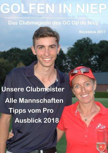 Clubzeitung Rückblick 2017