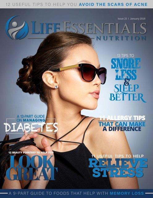 Life Essentials Magazine January 2018