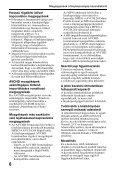 Sony SLT-A37 - SLT-A37 Consignes d'utilisation Hongrois - Page 6