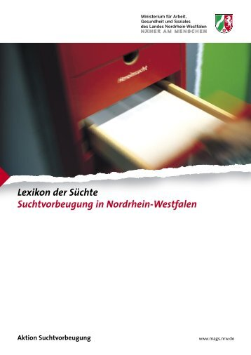 Lexikon der Süchte Suchtvorbeugung in Nordrhein-Westfalen Aktion ...