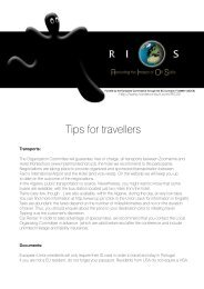 Tips for travellers - NORDEconsult