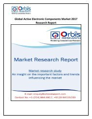 Active Electronic Components Industry Global Outlook, Size, Share, Trend & Forecast 2022