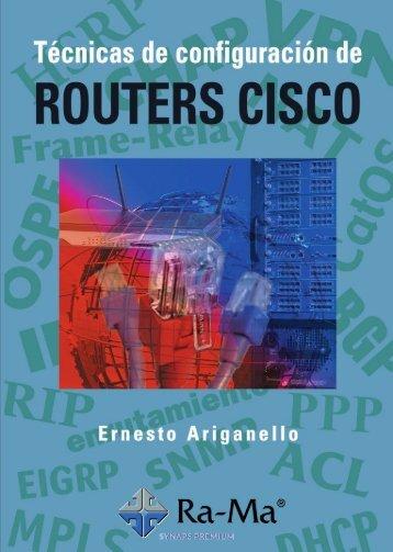 Tecnicas de Configuracion de Ro - Ernesto Ariganello