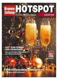 Hotspot Fröhliche Festtage Kärnten 2017-12-24