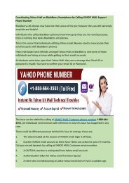 Coordinating_Yahoo_Mail_on_BlackBerry_Smartphone dial 1-888-664-3555 customer care number