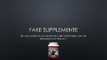 Horlaxen - Ein Supplement, oder Fake?
