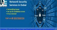 Network Security Services in Dubai