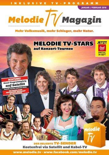 Melodie TV Magazin 01 02 2018 48-seitig Screen