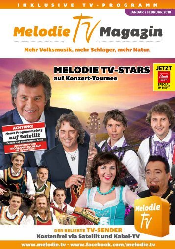 Melodie TV Magazin 01 02 2018 48-seitig Screen