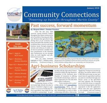 January 2018 - Fairmont Area Chamber Newsletter
