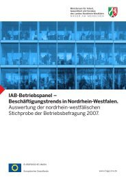 IAB-Betriebspanel - Arbeitspolitik in Nordrhein-Westfalen ...
