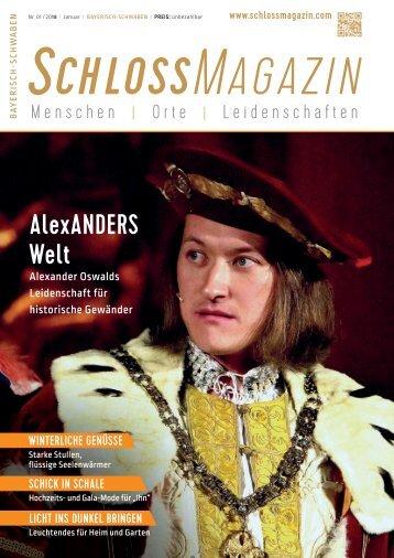 SchlossMagazin Bayerisch-Schwaben Januar 2018