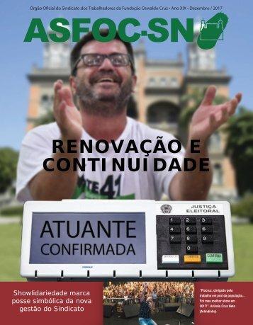 JORNAL ASFOC-SN - EDIÇÃO DEZEMBRO 2017
