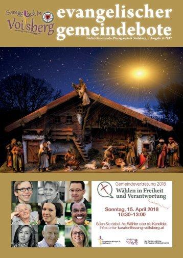 evangelischer gemeindebote 4/2017