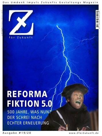 Z19 »REFORMAFIKTION 5.0«