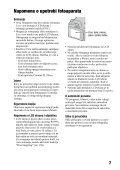 Sony DSLR-A330L - DSLR-A330L Mode d'emploi Serbe - Page 7