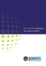 Eco friendly solutions for insect control - Starkeys Products