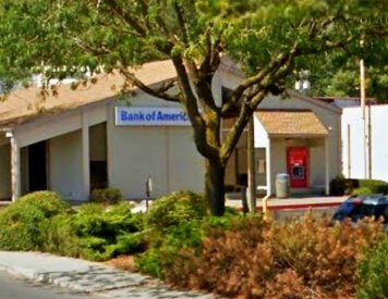 Bank of America Financial Center and ATM on W 5 Mile Rd near Spokane dental implant specialist Max H. Molgard Jr, DDS, FACP