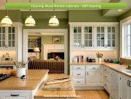 Cleaning Wood Kitchen Cabinets - GSR Cleaning