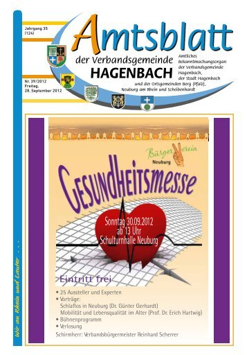 Verbandsgemeinde Hagenbach